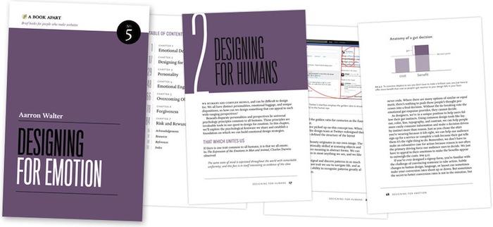 A Book Apart : 'Design Émotionnel' : Aperçu du livre